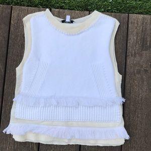 NWOT Derek Lam sleeveless sweater